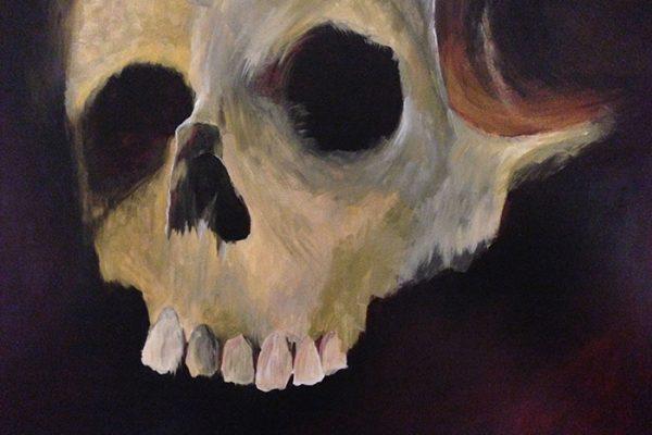 Large Skull - SOLD