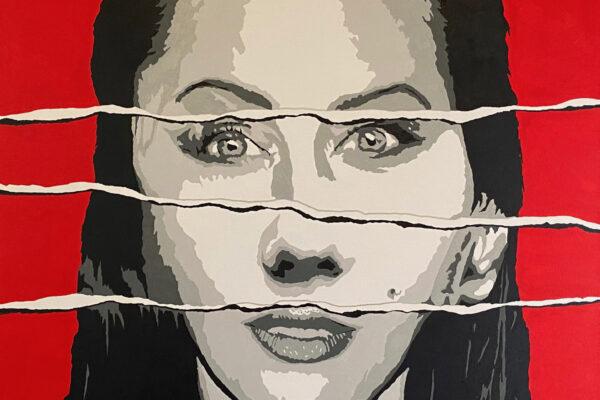 """30""""x30"""" - Acrylic on canvas"""