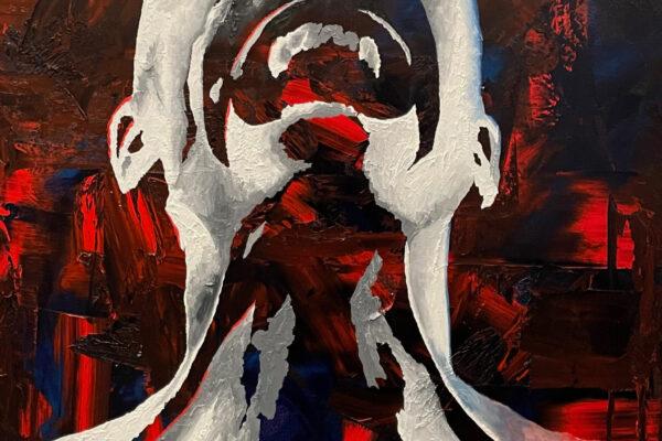 "40""x 30"" - Oil on canvas"